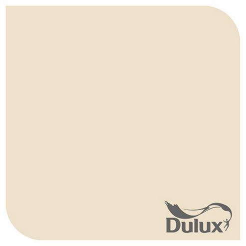 Dulux Natural Hints Matt Emulsion Paint, Barley White, 2.5L