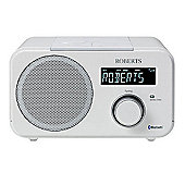 Roberts BLUTUNE 40 DAB/DAB+ Bluetooth Sound System, White