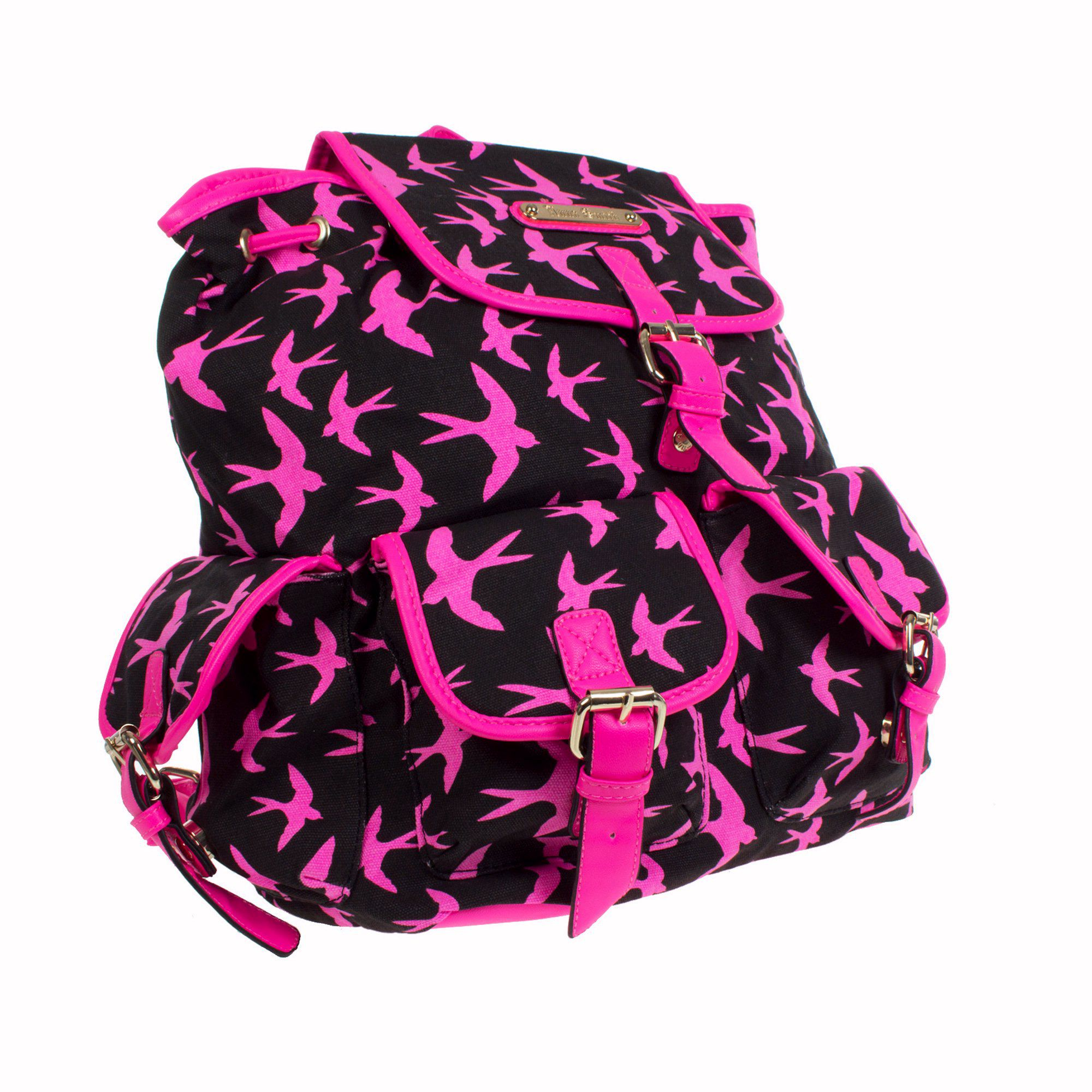 Anna Smith Bird Print Rucksack
