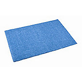Dandy Fiji Electric Blue Shag Rug - 67cm x 120cm