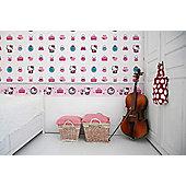 Hello Kitty Roll Fashion Wallpaper