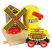 Bigjigs Rail BJT204 Flour and Windmill