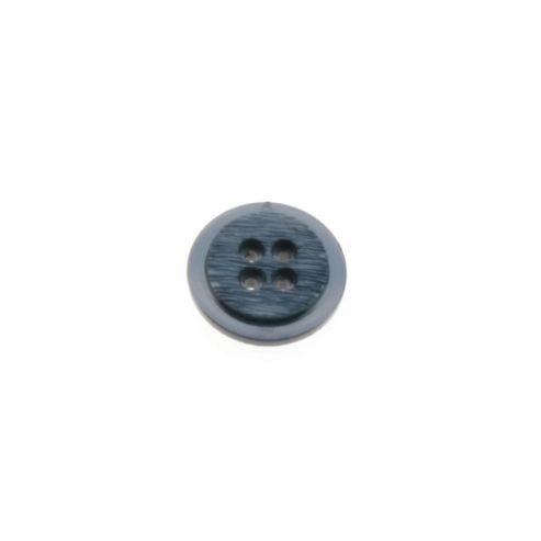 Dill Buttons 20mm Rnd Rebate Navy