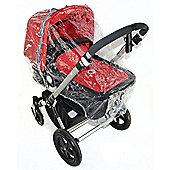 Raincover For Mamas And Papas Sola Luna Urbo Carrycot Ventilated
