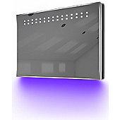 Ambient Ultra-Slim LED Bathroom Mirror With Demister Pad & Sensor K12U