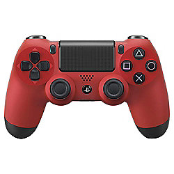 Dual Shock 4 Magma Red Controller (PS4)