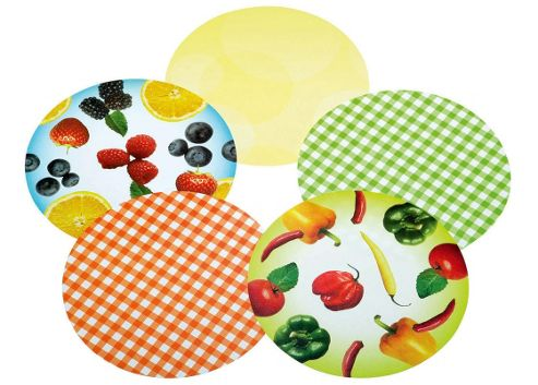Kitchen Craft Pack of Thirty Assorted Preserve Jar Lid Covers