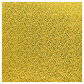 Luxury Gold Damask Roll wrap ZG328