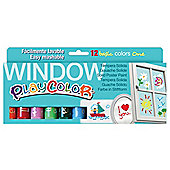 Playcolor Window One 10g Solid Poster Paint Stick (Pack of 12 - Assorted Colours)