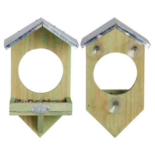 Fallen Fruits Window Feeder 100% FSC Wood