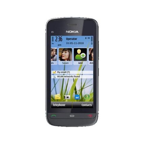 NOKIA - MOBILE PHONES - NOKIA C5-03 RM-697 - UK CV GRAPHITE BLACK