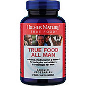Higher Nature True Food All Man 180 Veg Capsules