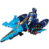 Power Rangers Megaforce Sea Brothers Zord Vehicle with Blue Ranger