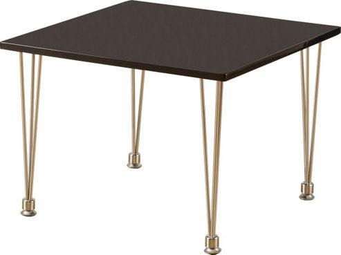 Home Essence Franklin Lamp Table in White - Black