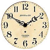 Jones & Co Hepburn Wall Clock 50x50cm