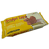 Sculpt Dry Air Drying Clay - 1kg - Terracotta