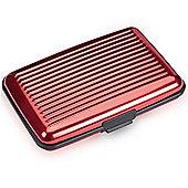 Aluminium Wallet - Red