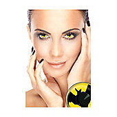 Bat Symbol UV Contact Lenses