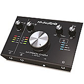 M-Audio M-Track 2X2M | 2-In/2-Out 24/192 USB Audio/MIDI Interface for High-Resolution, Studio Grade-Recording