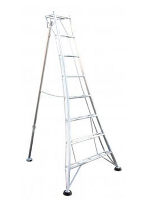 Ladders-Online Heavy Duty 3.6m (11.8ft) Standard - Garden Hedge Cutting Tripod Ladder