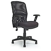 Black Mesh Back Managers Chair