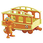 Tomy Dinosaur Train and Buddy with Train Car