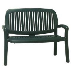 Nardi Lipari Bench in Green