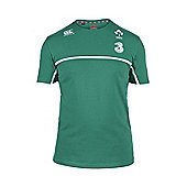 Canterbury Ireland Rugby IRFU RWC Cotton Training Tee 2015 - Bosphorus - Green