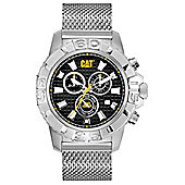 CAT Mens Stainless Steel Chronograph Date Watch CA.143.01.121