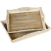 Hill Interiors Country Tray (Set of 2)