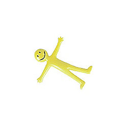Yellow Stretchy Smiley Man