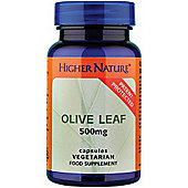 Higher Nature Olive Leaf Extract 500Mg 90 Veg Capsules