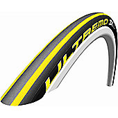 Schwalbe Ultremo ZX Tyre: 700c x 23mm Yellow Stripes Folding. HS 380, 23-622, Evolution Line, HD Speed Guard