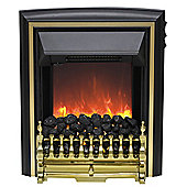 Comet 2kW Inset Electric Fire - Brass