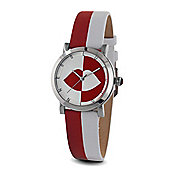 Lulu Guinness Mischief Ladies Leather Watch LG20016S02X