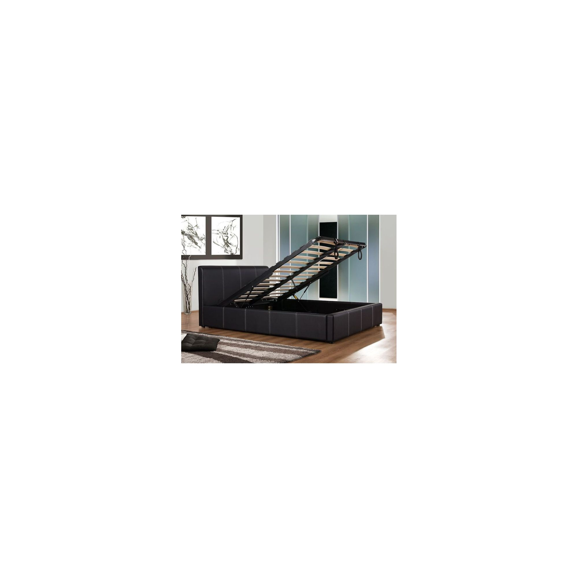 Birlea Ottoman Bed Frame - Single/Black at Tesco Direct