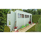 BillyOh 5000 Gardeners Haven 12 x 6 Premium Tongue and Groove Pent Shed