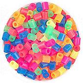Hama Beads 1,000 - Neon Mix