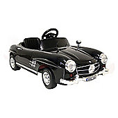 Kids Electric Car Mercedes Benz 300 SL 12 Volt Black Gloss