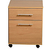 Home Essence Camden 2 Drawer Filing Cabinet