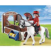 Playmobil Country Flamenco Horse With Stall