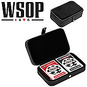 World Series Of Poker Casino Playing Cards - Leather Case