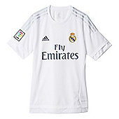 adidas Real Madrid 2015/16 Home Replica Jersey Shirt White - White