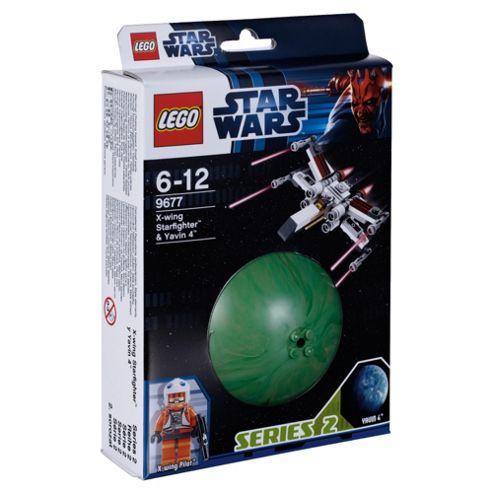 LEGO Star Wars X-Wing Starfighter & Yavin 4 9677
