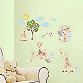 Sophie the Giraffe Wall Stickers