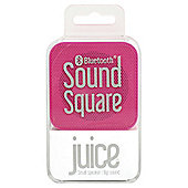 Juice Sound Square Bluetooth Speaker Pink