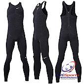 Nike Swift AMPd Mens Professional Swimming / Triathlon Fastskin Swimsuit - Black