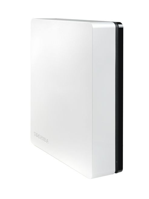 Toshiba Stor.E Canvio 2TB 3.5 inch External Hard Drive USB 3.0 (White/Black)