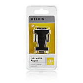Belkin Components F2E4162CP HD-15 Male/Female 17-pin DVI-I 15-pin D-Sub - Black