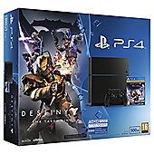 PS4 500GB (black) with Destiny: The Taken King